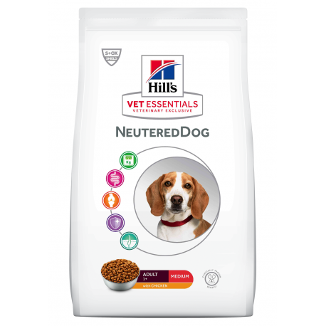 Vet Essentials Adult NeuteredDog Medium Poulet