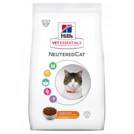 Vet Essentials Young Adult NeuteredCat Poulet