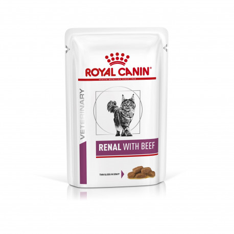 Veterinary Diet Cat Renal Boeuf Sachet repas