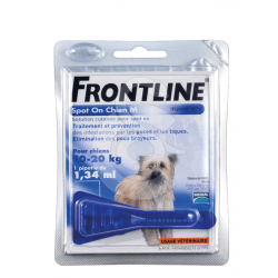 FRONTLINE SPOT ON CHIEN 10/20 KG