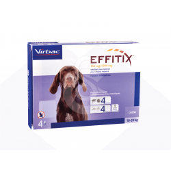Effitix Spot On Chien moyen 10-20 kg