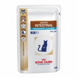 Veterinary Diet Cat gastro Intestinal Moderate Calorie Sachet repas