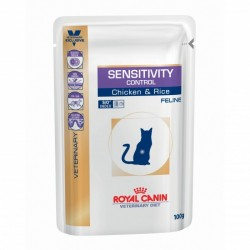 Veterinary Diet Cat Sensitivity Control Poulet Sachet repas